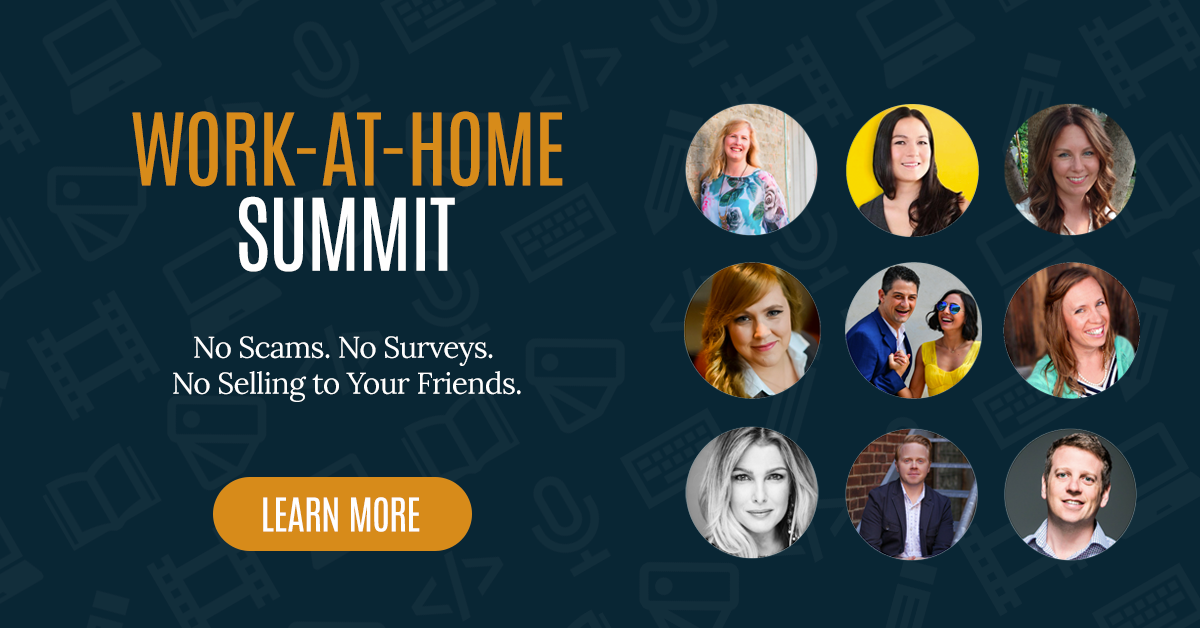 [Time Sensitive] Work at Home Summit Starts Soon!