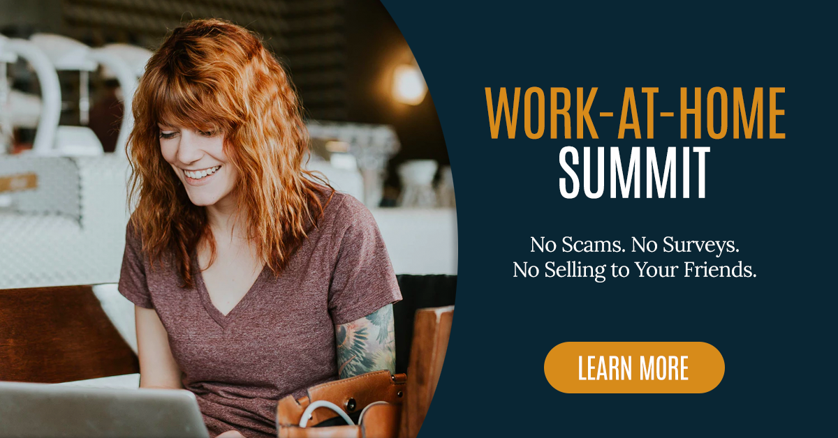 Sign up for Work-at-home free summit